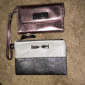 PINK VS wristlet and little purse